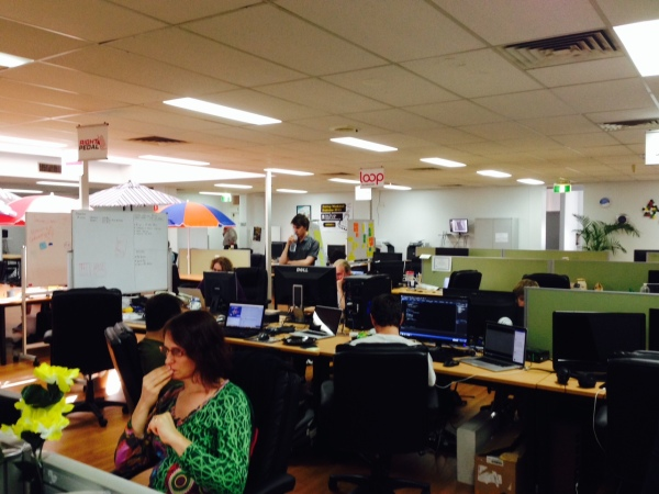 Ideas in action at River City Labs in Fortitude Valley